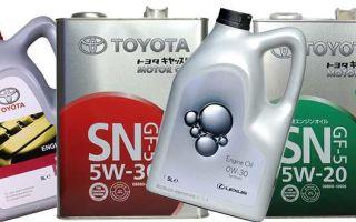Моторное масло «Тойота»: где выпускается и как отличить подделку
