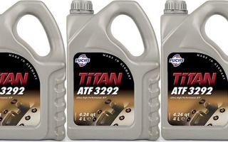 Fuchs Titan ATF 3292: масло для автоматических коробок передач