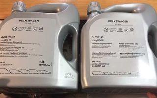 Оригинальное моторное масло Volkswagen: характеристики и применение
