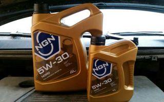 Моторное масло NGN Nord 5w 30 разработано для сильных морозов