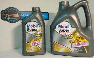 Mobil super 3000 xe 5w 30: надежное масло в экстремальных ситуациях