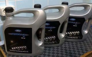 Ford Formula F 5w30: особенности, спецификация, допуски