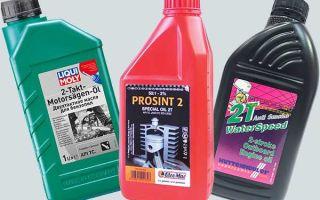 Особенности двухтактного масла — стандарт ISO