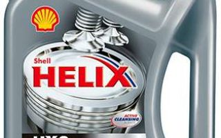 Подробно о моторном масле Shell Helix 5W-30 HX8