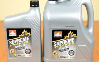 Petro Canada Supreme Synthetic 5W 30: масло для любого рынка сбыта