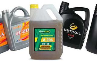 Веретенное масло: что это такое и где применяется