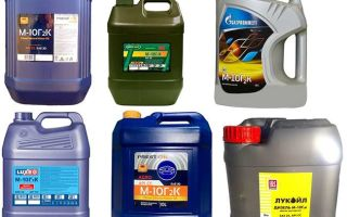 Моторное масло М10Г2к: минеральная смазка для ДВС