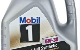 Mobil 1 FS 5W30: применение, расшифровка, обозначение