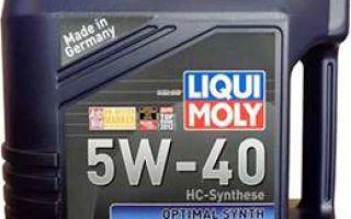 Liqui Moly Optimal Synth 5w 40: гидрокрекинговый компромисс цены и качества