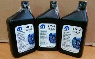 Mopar atf 4 — трансмиссионное масло из Америки