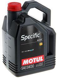 Motul Specific dexos 2 5W30
