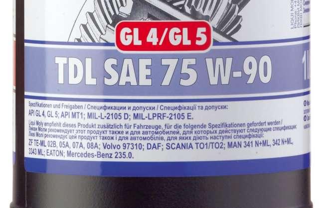 обозначение упаковке трансмиссионного масла
