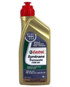 масло для трансмиссии Castrol Syntrans Transaxle SAE 75W90