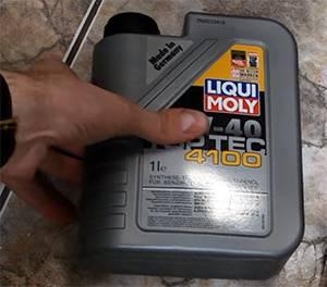 масло LIQUI MOLY Тор Tec 4 100 5W-40