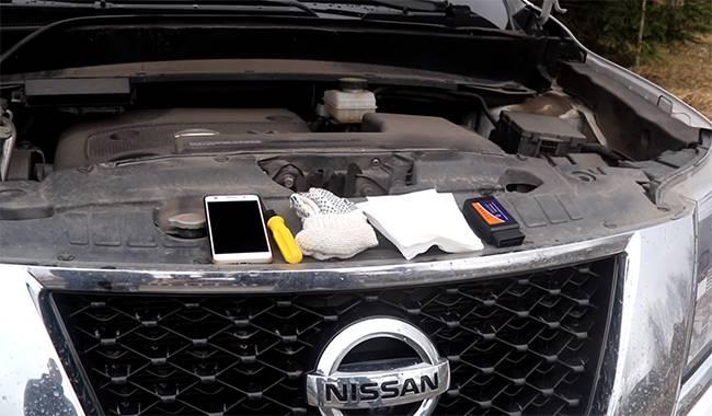 проверяем вариатор Nissan Qashqai