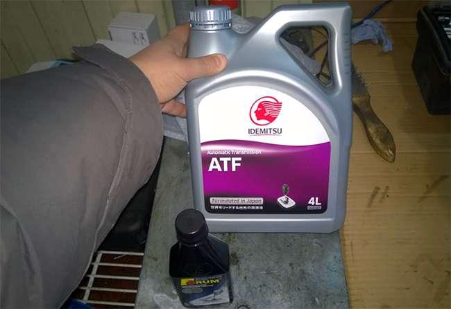 новая ATF смазка для АКПП