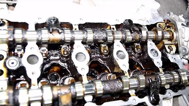 мотор мерседеса без промывки