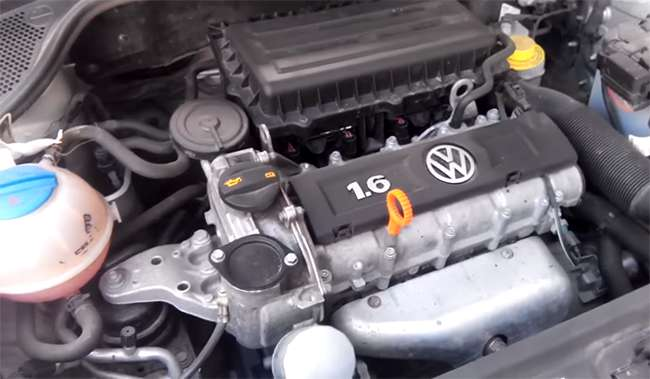 мотор фольксваген поло