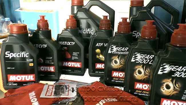 широкий выбор смазок Motul