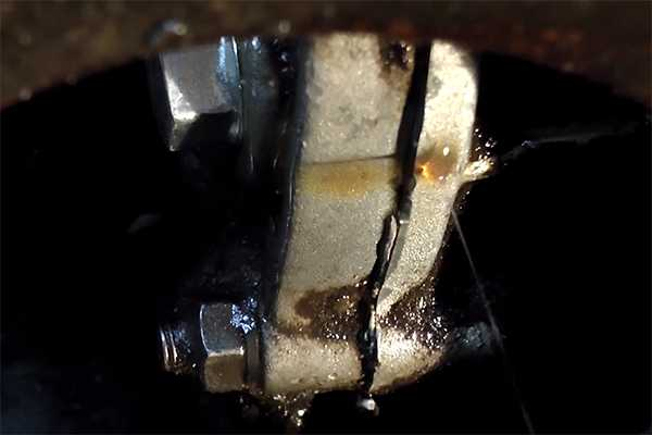 Течь масла из коробки передач