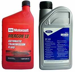 Трансмиссионное масло Mercon и DP-M5