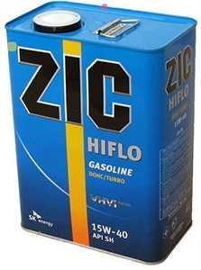 моторное масло zic HIFLO