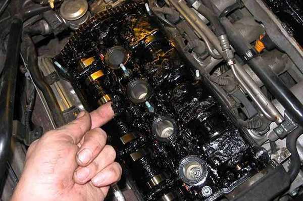 Отложения в моторе