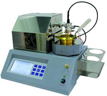 прибор для тестирования масла на воспламенение