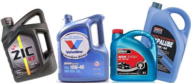 10w-40 синтетика разных производителей