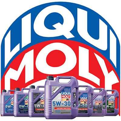 линейка масел Liqui Moly