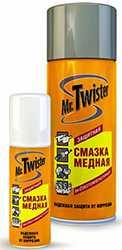медная смазка Mr. Twister.