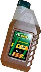 Масло И 20А а литровой канистре