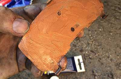 паста на основе медного порошка