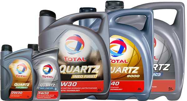 Моторные масла компании Total