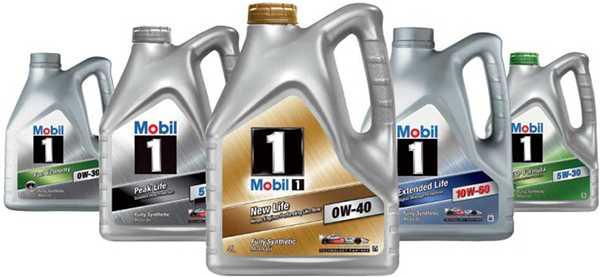 масло мобил ассортимет