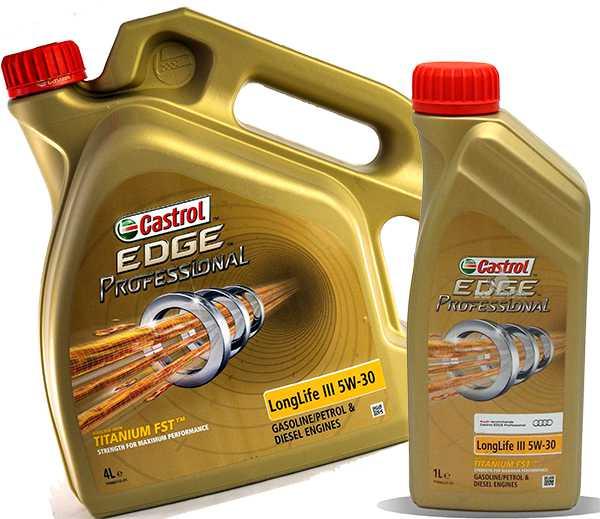 Масло castrol edge longlife iii 5w 30