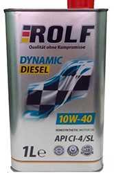 Рольф 10w 40 Dynamic Diesel