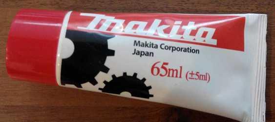специальная смазка Макита для электроинструмента