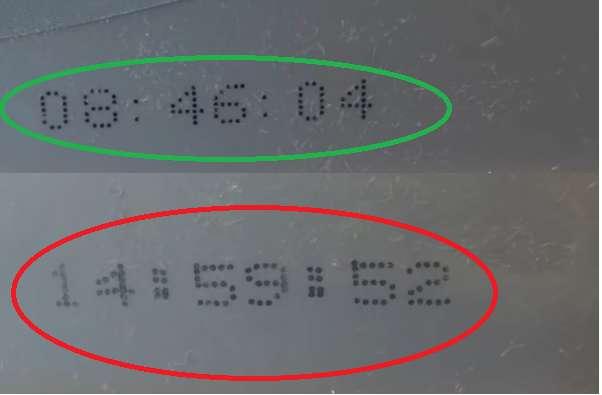 Дата производства: оригинал и подделка