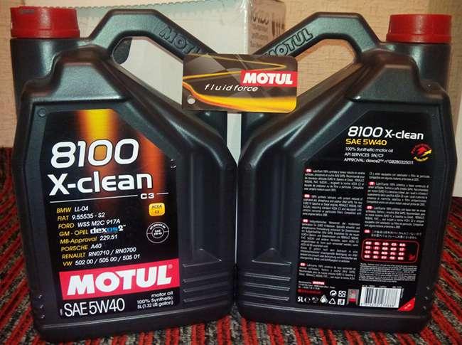 отличие оригинала и подделки Motul 8100 5W-30 X-clean