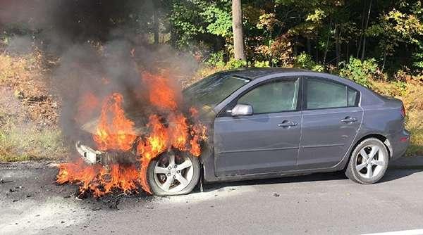 Мотор загорелся от перегрева