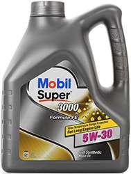 Mobil super 3000 xe 5w 30 в 4-х литровой канистре