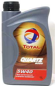 Масло Quartz 9000 Energy 5W 40 в литровой таре