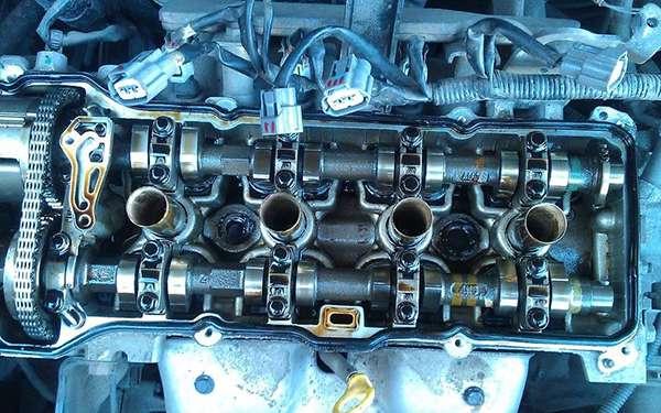 Двигатель после использования масла Синтек Платинум 5W40