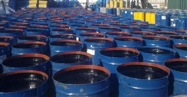 отработанное масло храниться в бочках