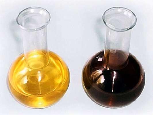 чистое масло получено из отработанного
