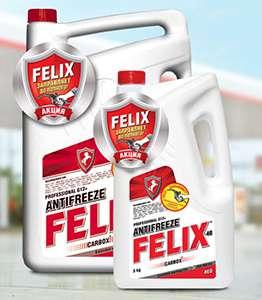 Красный антифриз Феликс