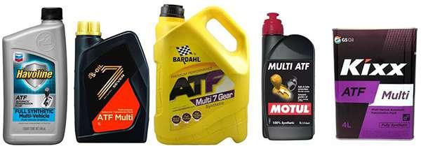 ATF Multi-Vehicle различных производителей