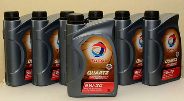 канистра Total Quartz 9000 Energy HKS G 310 5w30