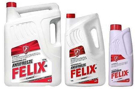 Felix G12 в различных емкостях